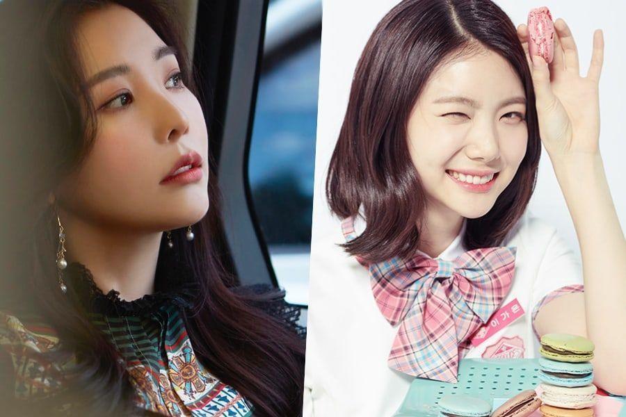 """Raina de After School dice que tiene completa confianza en Lee Ga Eun para """"Produce 48"""""""