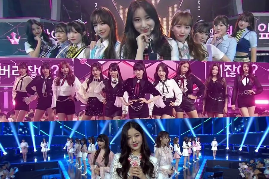 """Participantes de """"Produce 48"""" interpretan 3 canciones nuevas durante el intenso final"""