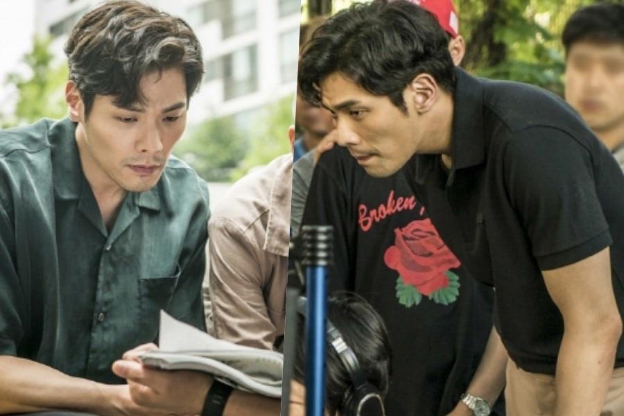 Choi Daniel está lleno de pasión en escenas de detrás de cámaras para próximo drama de terror