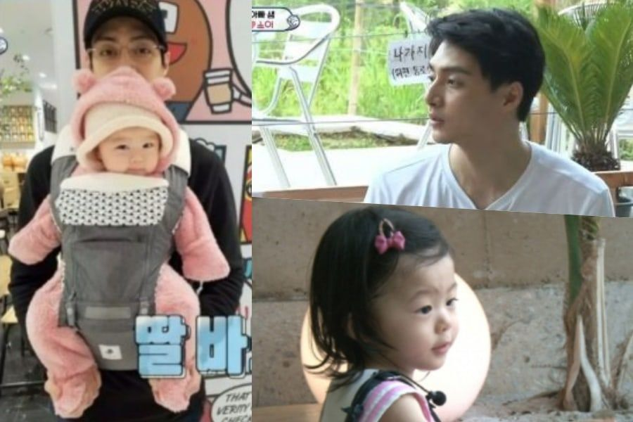 """Kim Joon presenta a su hija por primera vez y visita el set de """"Boys Over Flowers"""""""