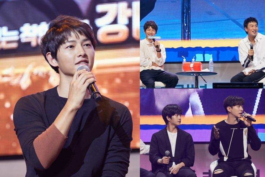 Song Joong Ki realiza reunión de fans por su 10mo aniversario con Lee Kwang Soo, Junho de 2PM y Kim Min Suk