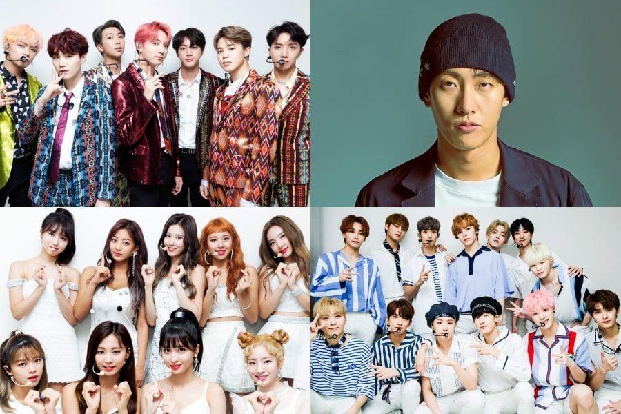BTS y Shaun encabezan las listas semanales de Gaon + TWICE y SEVENTEEN obtienen certificado platino
