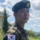 Lee Jung Shin de CNBLUE actualiza a los fans sobre su servicio militar mostrando fotos