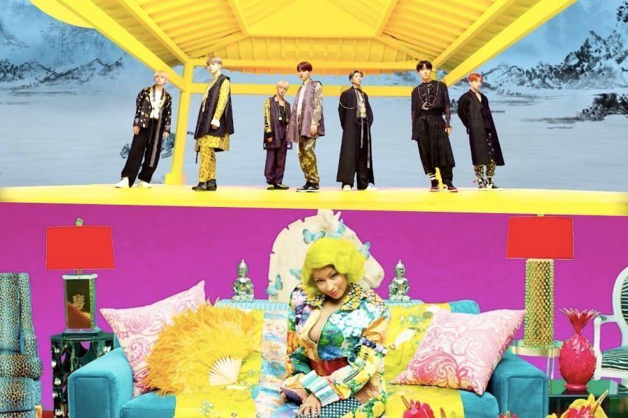 """BTS libera nueva versión del MV de """"IDOL"""" con Nicki Minaj y videos del """"IDOL Challenge"""""""