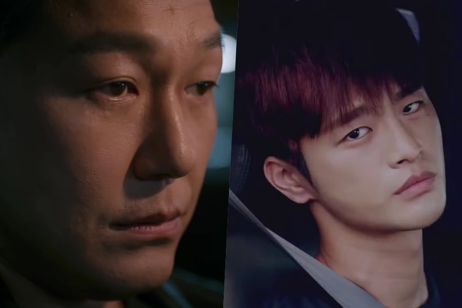"Park Sung Woong se pone nervioso cuando ve a Seo In Guk en el teaser de ""The Smile Has Left Your Eyes"""