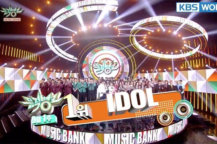 """BTS logra su 4ª victoria por """"IDOL"""" en """"Music Bank"""". Actuaciones de Sunmi, MXM, NCT Dream y más"""