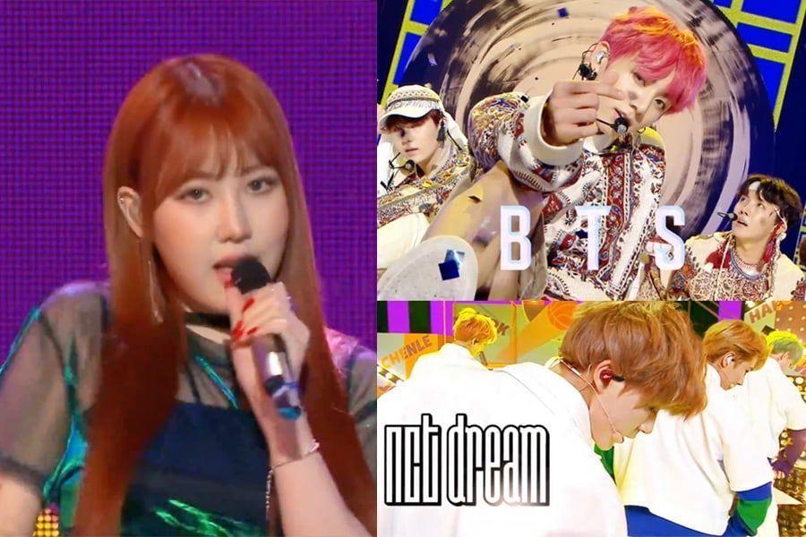 """BTS, NCT Dream, LOONA y más actúan en """"Music Core"""""""