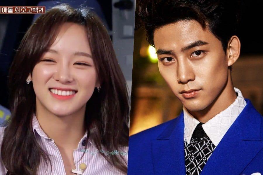 Kim Sejeong de gugudan revela que Taecyeon de 2PM fue su primer bias idol