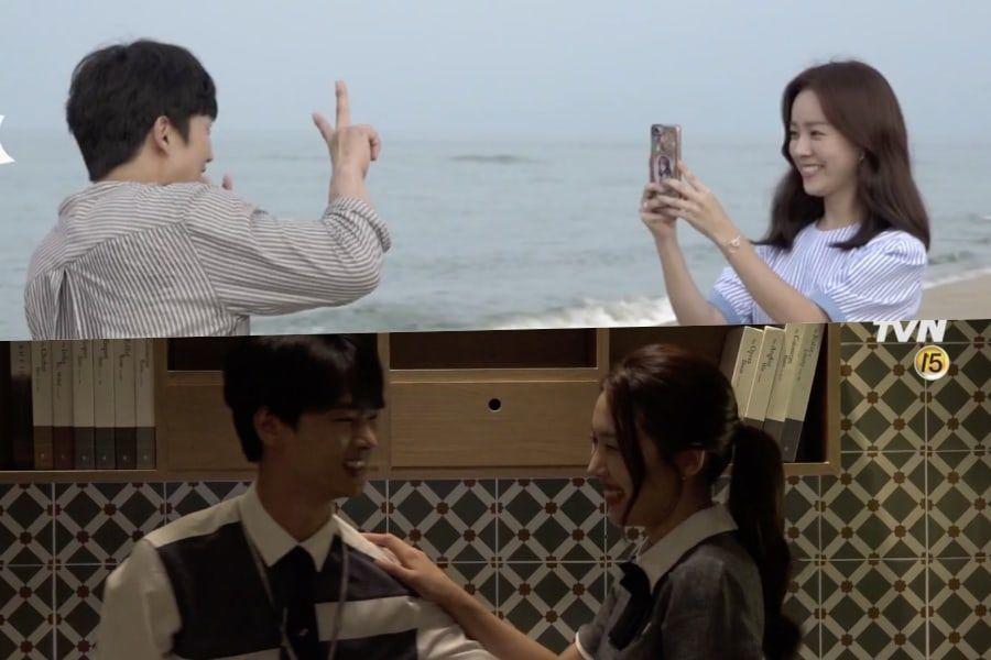 """Las parejas de """"Familiar Wife"""" llenan el set de risas al tener citas y filmar escenas de besos"""