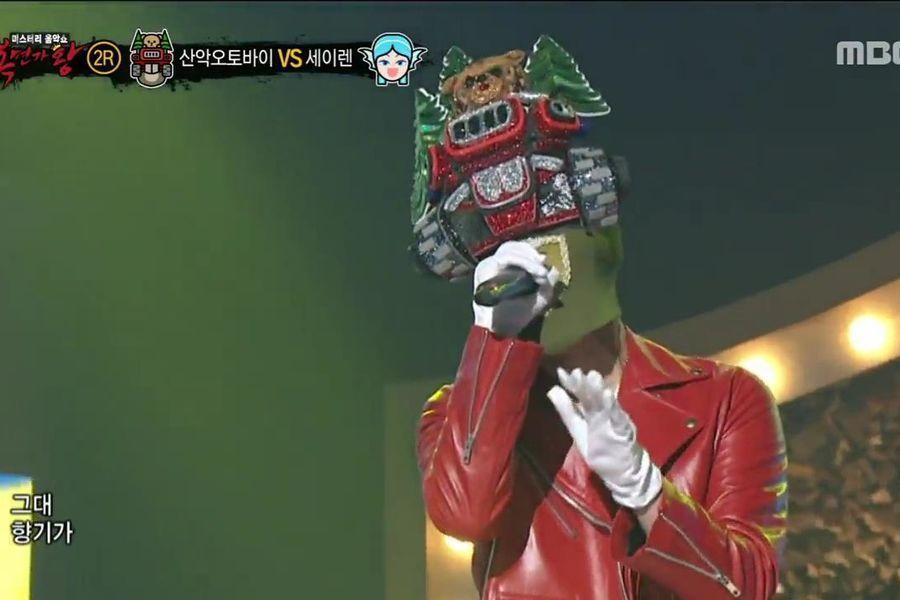 """Vocalista principal se convierte en el 3er miembro de su grupo en sorprender a todos en """"King Of Masked Singer"""""""