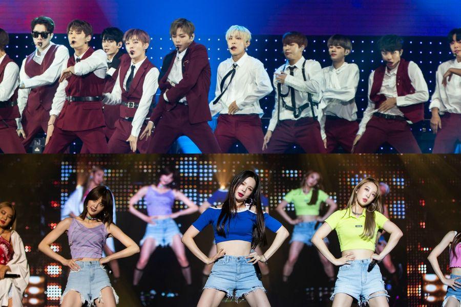 """Geniales presentaciones de Wanna One, el regreso de Solji a EXID y más, en el día 2 del """"HallyuPopFest 2018"""""""
