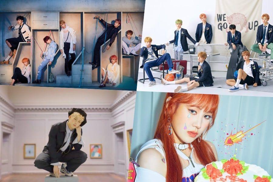 BTS, NCT Dream, Jooheon de MONSTA X, Park Jimin y BLACKPINK toman posiciones en la lista de álbumes mundiales de Billboard