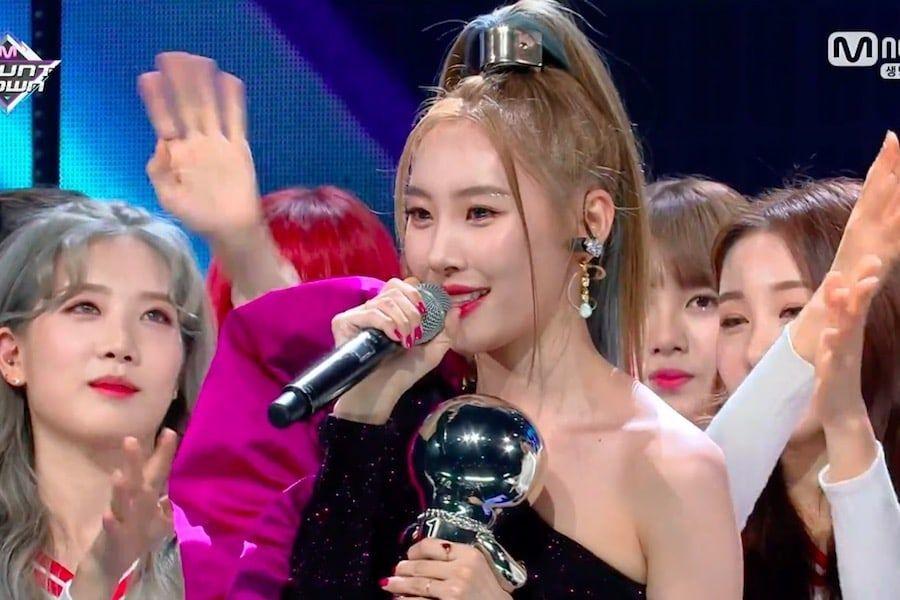 """Sunmi logra su primer premio con """"Siren"""" en """"M!Countdown"""", actuaciones de Shinhwa, PENTAGON, y más"""