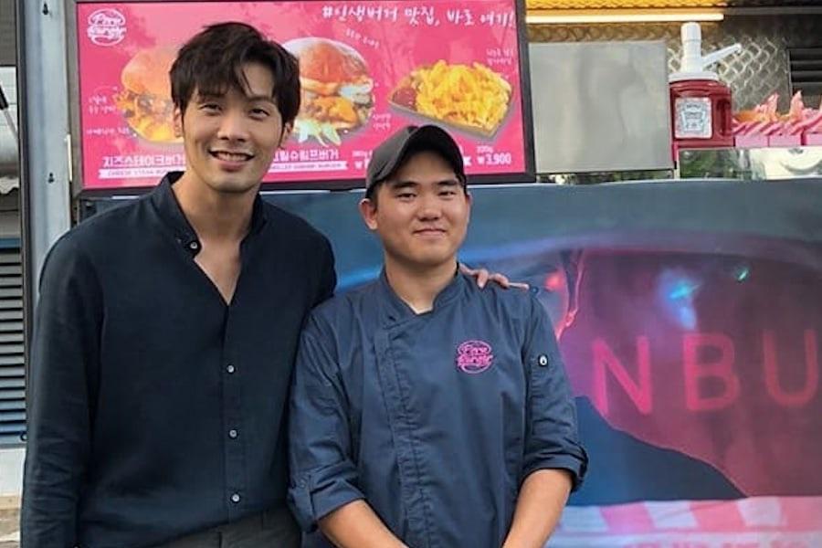 "Choi Daniel sorprende a equipo de ""The Ghost Detective"" con camión de comida"