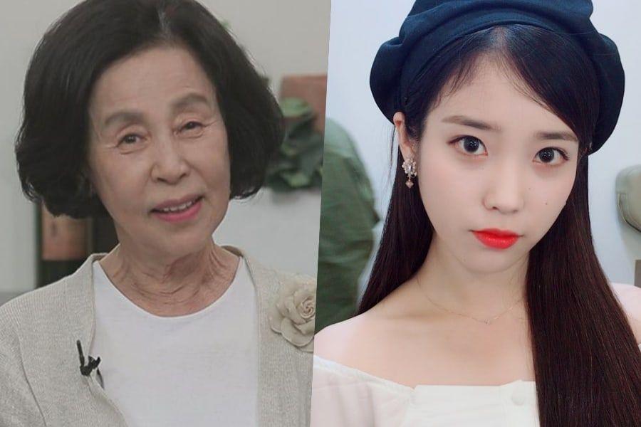 Soon Sook felicita a IU por sus habilidades en la actuación