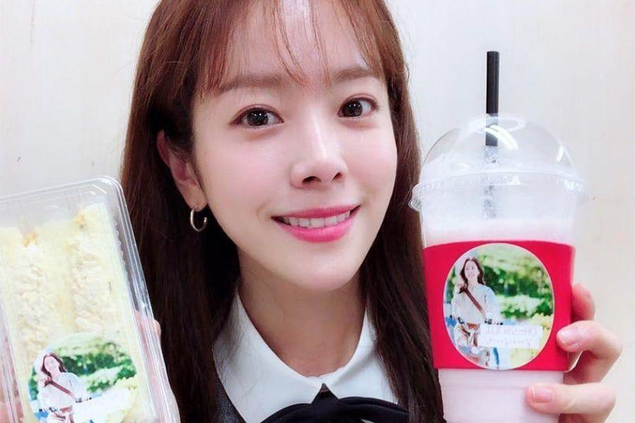 Kim Go Eun envía un camión de café para mostrar su apoyo a Han Ji Min