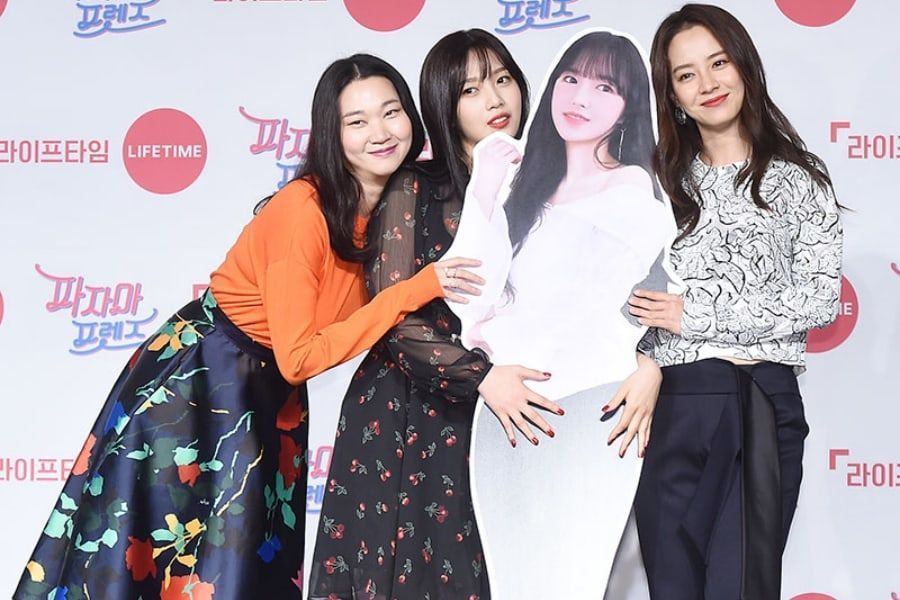 Jang Yoon Joo, Joy de Red Velvet y Song Ji Hyo hablan sobre su creciente amistad