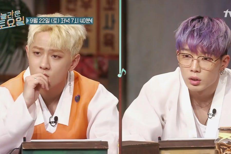 """Donghyuk y Bobby de iKON ponen a prueba sus habilidades para resolver acertijos en vista previa de """"Amazing Saturday"""""""