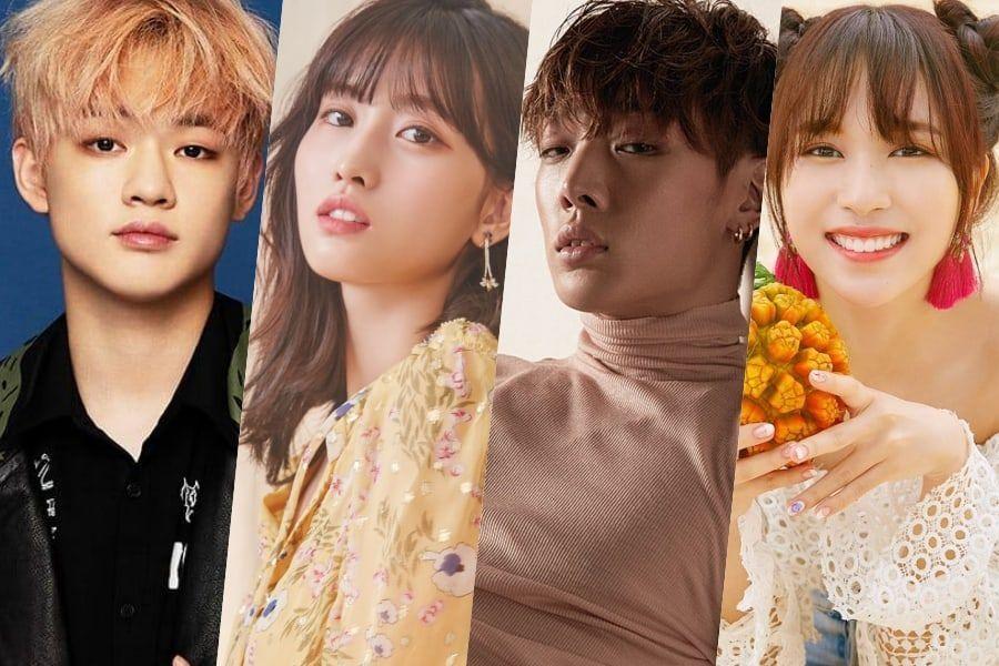 Chenle de NCT Dream, Bobby de iKON, Momo y Mina de TWICE revelan qué estrellas del K-Pop admiran