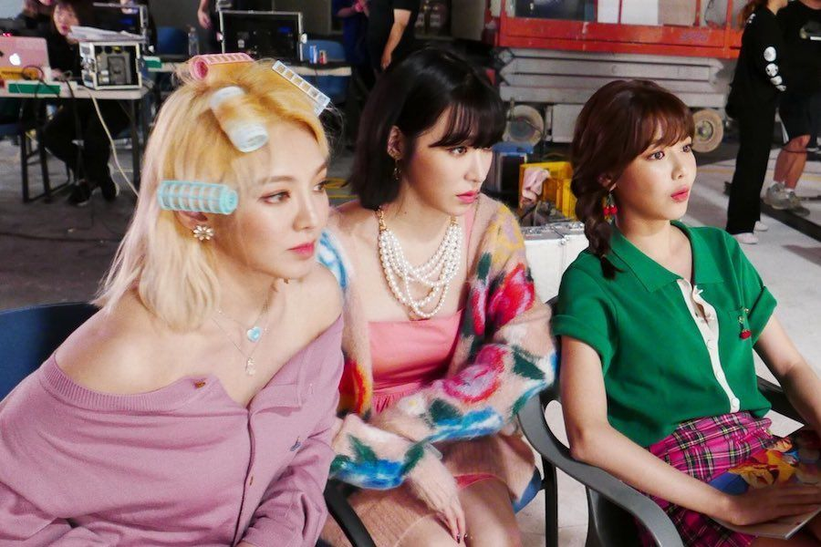 Hyoyeon y Sooyoung de Girls' Generation se unen en apoyo al nuevo video musical de Tiffany