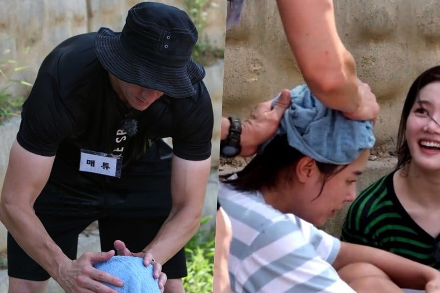 "Matthew Douma, el padre de Jeon Somi cariñosamente cuida al elenco de ""Real Men 300"""