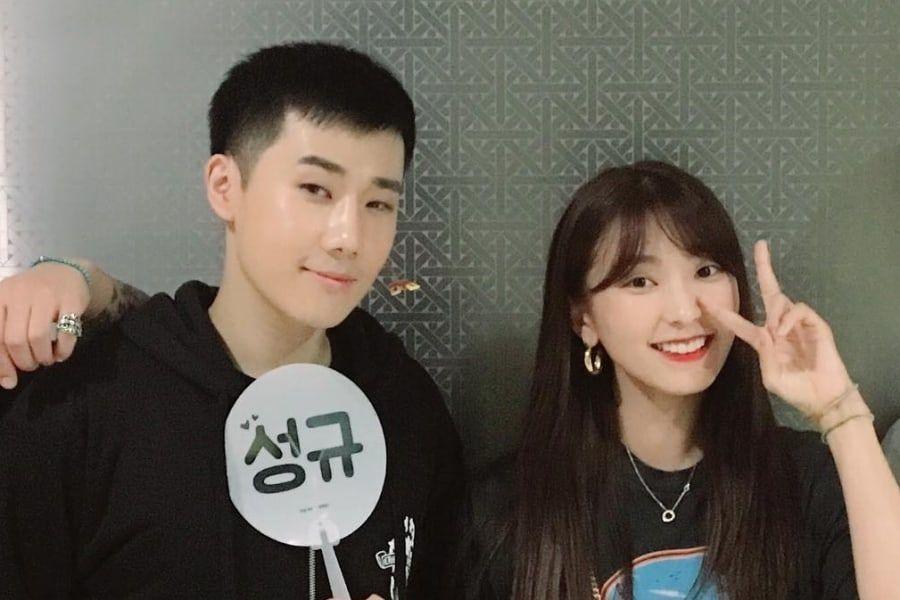 Bora da ánimos a Sunggyu de INFINITE en su musical militar