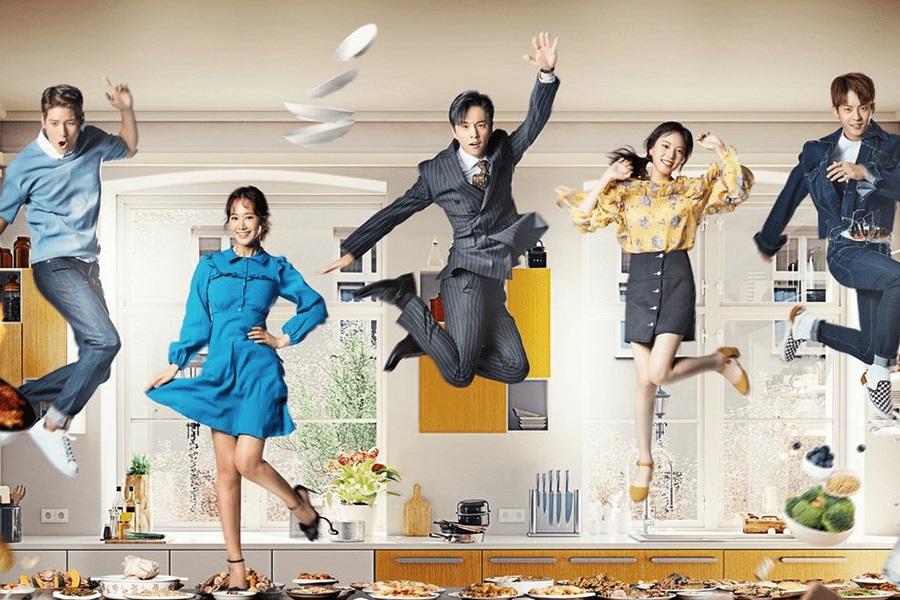"""El elenco de """"Dae Jang Geum Is Watching"""" es salvaje y libre en afiches oficiales temáticos de comida"""
