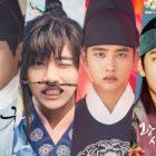 Ídolos masculinos que se robaron los corazones de los espectadores en dramas históricos
