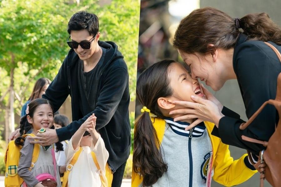 """So Ji Sub y Jung In Sun son geniales con los niños en """"Terius Behind Me"""""""