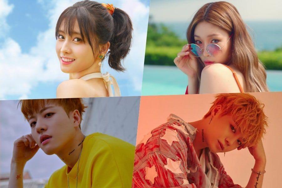 """Momo de TWICE, Chungha, Feeldog y Eujin de UNB y otros más serán jueces invitados en """"Dancing High"""""""