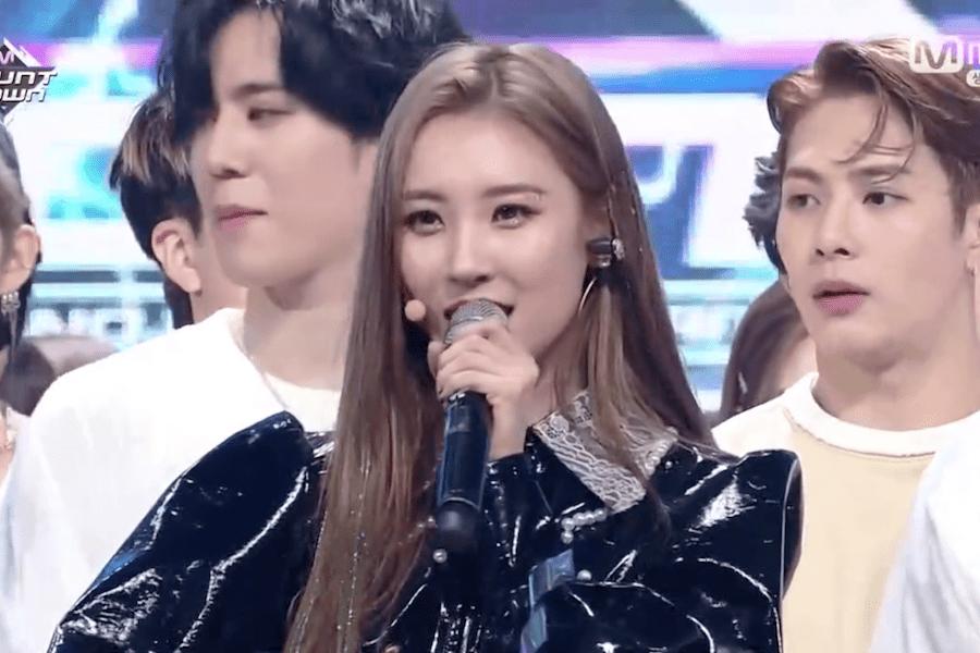 """Sunmi gana por tercera vez con """"Siren"""" en """"M!Countdown"""", actuaciones de GOT7, DreamCatcher, y más"""