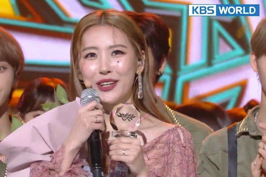 """Sunmi logra su cuarta victoria con """"Siren"""" en """"Music Bank"""", actuaciones de GOT7, WJSN, y más"""