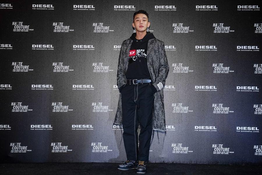 Yoo Ah In es el primer actor asiático en ser seleccionado como modelo global de la marca de moda Diesel