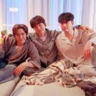 Nichkhun, Junho y Chansung de 2PM comparten recuerdos de sus 10 años juntos