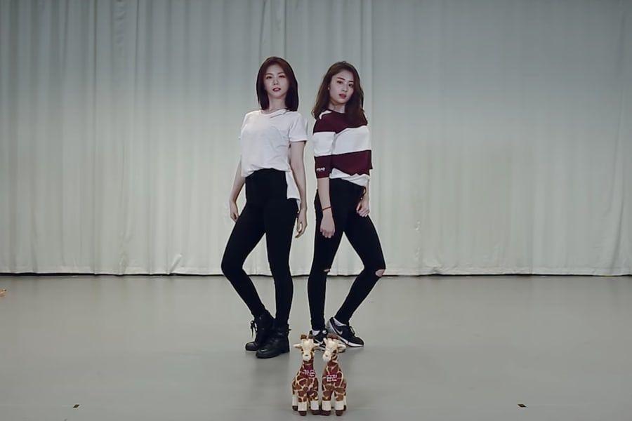"""Concursantes de """"Produce 48"""", Lee Ga Eun y Heo Yun Jin sorprenden con un video especial de baile de """"Havana"""""""