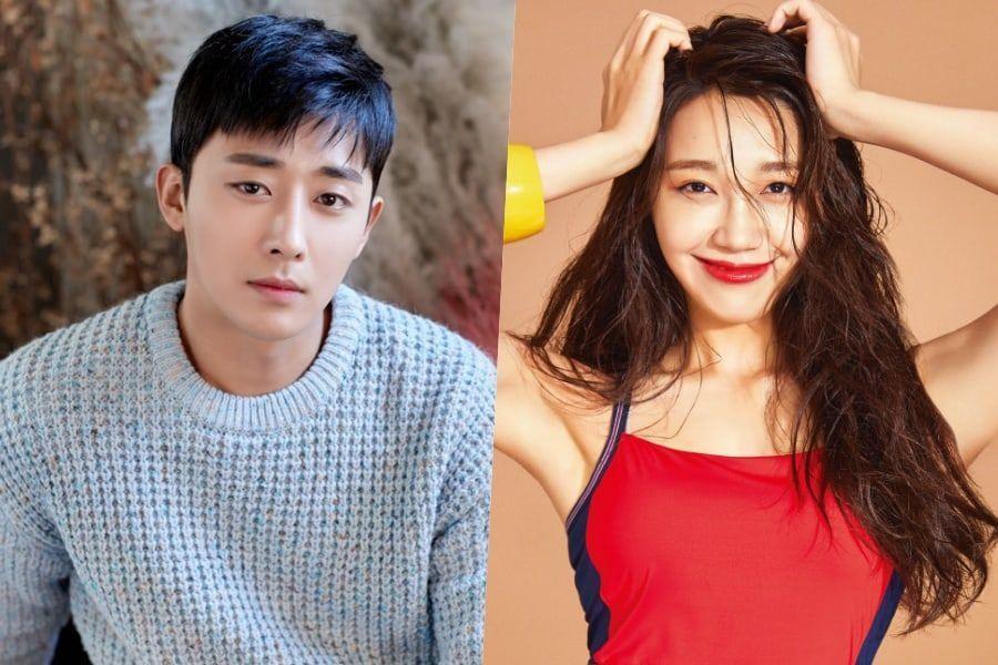 """Jung Eun Ji de Apink muestra su apoyo a su compañero en """"Trot Lovers"""" Son Ho Jun en su nuevo drama"""