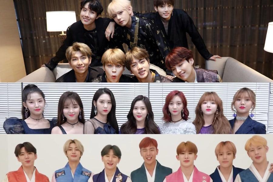 Ídolos de K-pop comparten sus felicitaciones por el Chuseok 2018