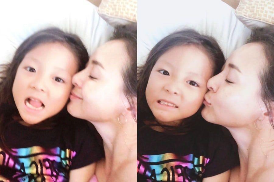 Yano Shiho comparte fotos de su dulce reunión con su hija Choo Sarang