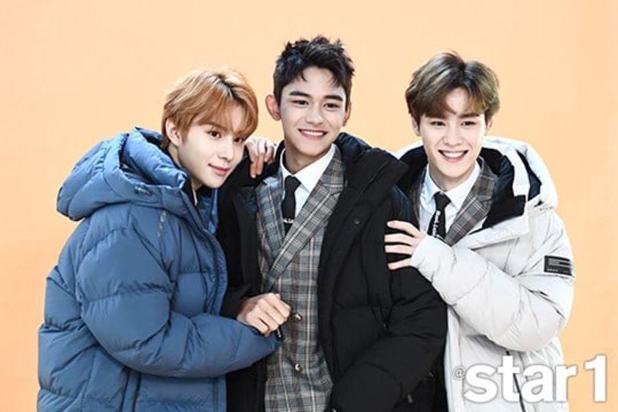 """Lucas, Jungwoo y Kun de NCT hablan sobre su cercana amistad y su debut con """"NCT 2018"""""""