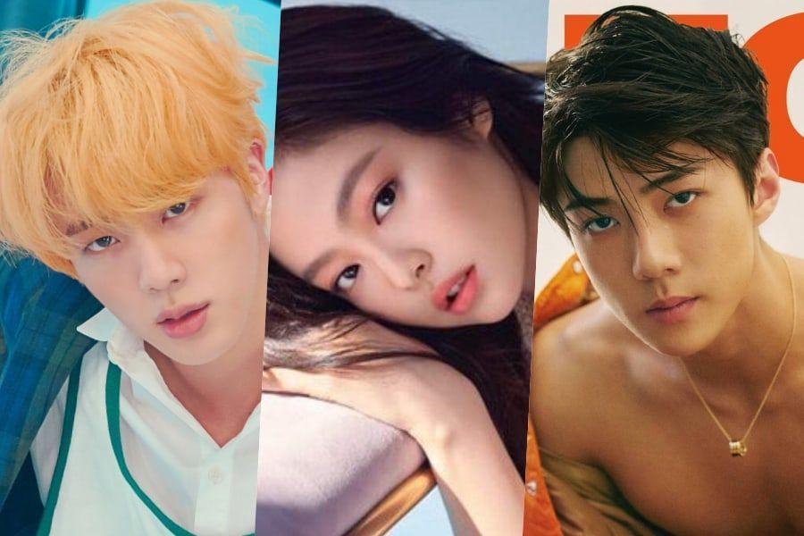 Ídolos de K-Pop con magníficas líneas de hombro de 90 grados