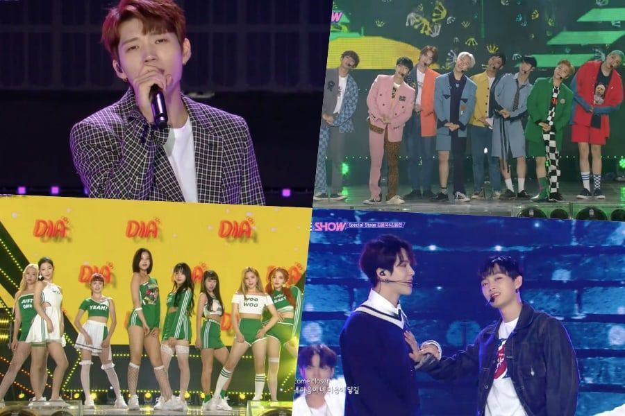 """Nam Woohyun de INFINITE, PENTAGON, DIA, Kim Dong Han, Longguo y otros más se presentan en """"The Show"""""""