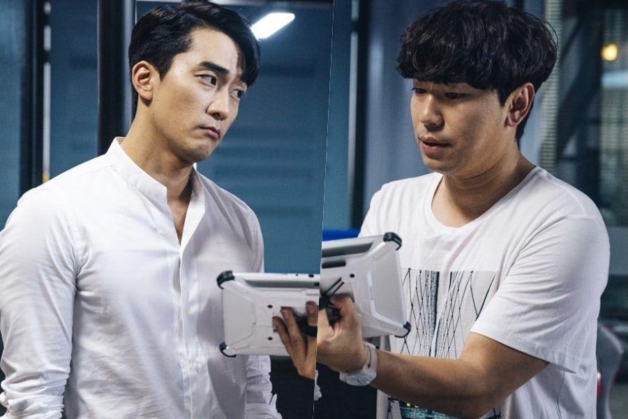 """Song Seung Heon y Lee Si Eon muestran una divertida química para """"The Player"""""""