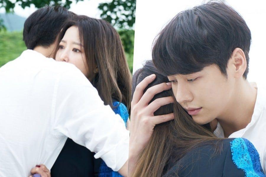 """Kim Young Kwang sorprende a Kim Hee Sun con un repentino abrazo en """"Room No. 9"""""""