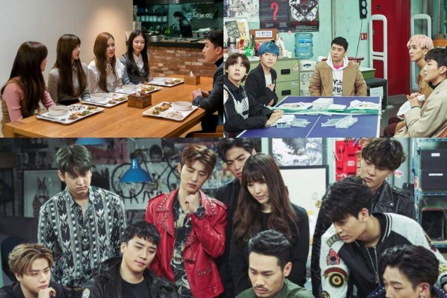 BLACKPINK, WINNER, iKON y más, se unen a Seungri de BIGBANG en nuevas fotos para el sitcom de YG