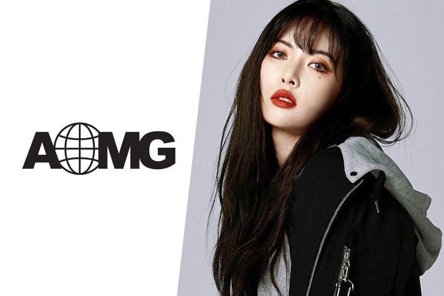 AOMG niega los rumores de que HyunA se una a la agencia