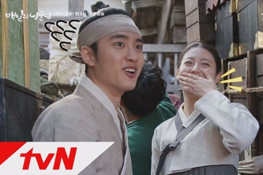 """Nam Ji Hyun no puede dejar de reírse con D.O de EXO en video detrás de cámaras para """"100 Days My Prince"""""""