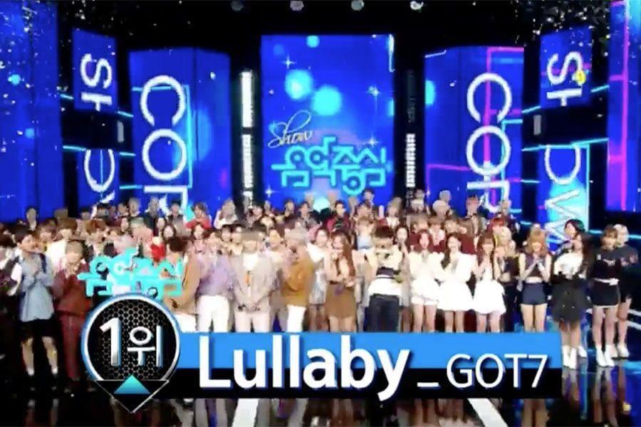 """GOT7 logra su 3ª victoria por """"Lullaby"""" en """"Music Core"""". Actuaciones de PENTAGON y WJSN, entre otros"""