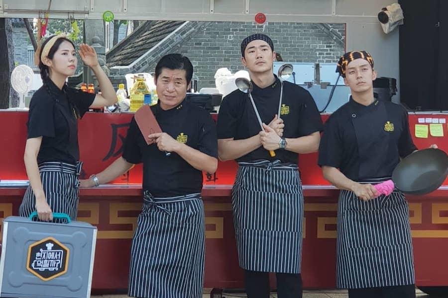"""El elenco de """"4 Wheeled Restaurant"""" logra un gran éxito vendiendo fideos de frijoles negros en China"""