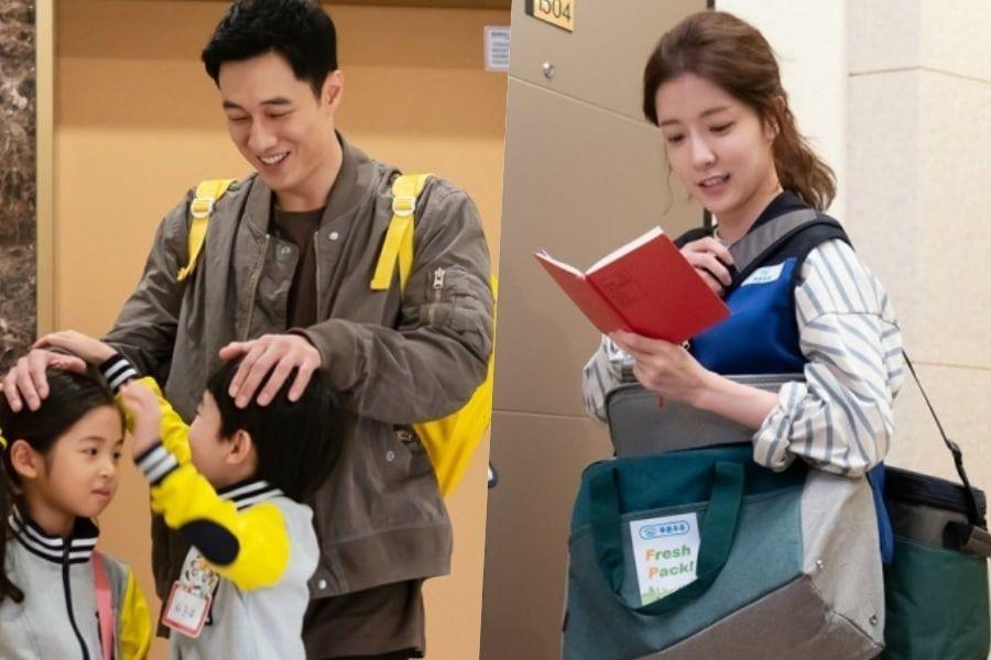 """So Ji Sub muestra su lado dulce al jugar con los niños en detrás de escenas de """"Terius Behind Me"""""""