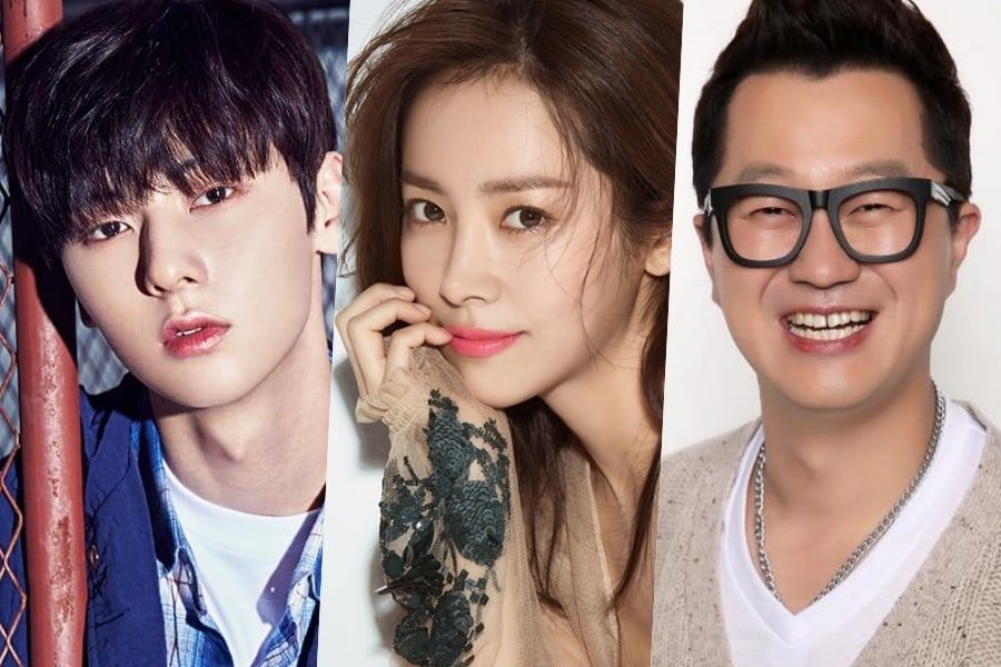 "Hwang Min Hyun de Wanna One y Ji Sang Ryul serán MCs especiales para ""Happy Together 4"" y Han Ji Min será la primera invitada"